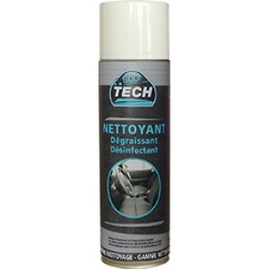 AEROSOL MOUSSE NETTOYANTE DEGRAISSANTE DESINFECTANTE 400ML