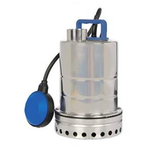 POMPE VIDE CAVE MONOPHASE TOUT INOX POUR EAUX PEU CHARGEES  0,25 KW