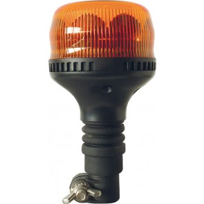 GYROPHARE  LED MERCURA ROTATIF EMBASE HAMPE 10-30V ORANGE