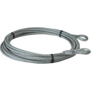ELINGUE CABLE GALVA 6X19 D12MM L.10M 2 BCLE