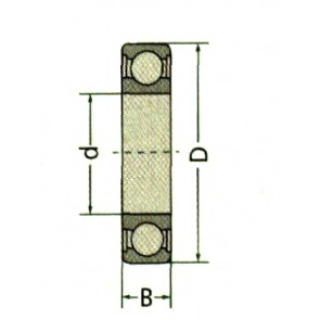 ROULEMENT 63052RSC3