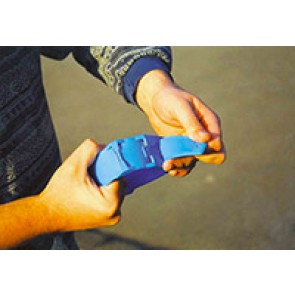 Bracelet plastique bleu