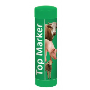 Crayon de marquage TopMarker vert par 2
