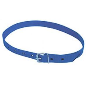 Collier de marquage bleu 120cm avec bouc