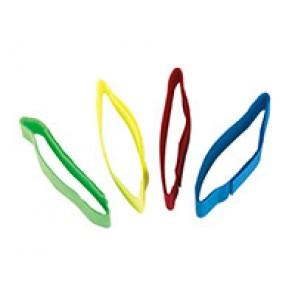 Bracelet velcro fluo assortis 36cm par 1