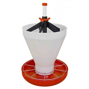 Mangeoire maxi hopper pan contenance 18