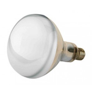 Lampe Kerbl IR 150W blanche, verre de sé