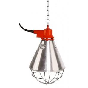 Protecteur de lampe alu, câble 2,5m
