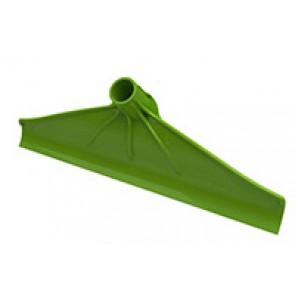 Racloir à déjection PVC vert 40cm