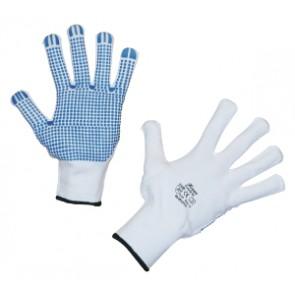 Gants tricot FineGrip  picots PVC Taille 10