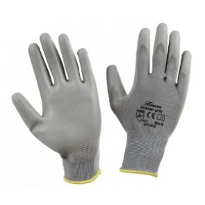 Gants de mécanique de précision gris, taille 8
