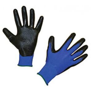 Gants de mécanique Nytec noir/bleu Taill