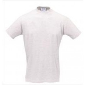 TEE-SHIRT 100% coton 190gr - GRIS CHINE  - TAILLE XL