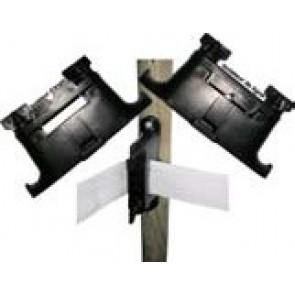 Isolateur de rubans/cordes pour piquets bois et béton (Poche de 25)