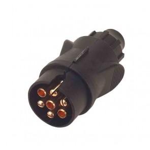 Prise pour feux connecteurs males 7poles