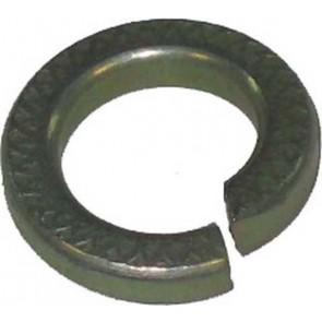 Rondelle à ressort 3/8 ''zinc lourd et jaune