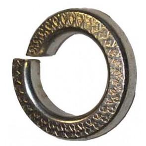 Rondelle à ressort 1/4 ''Zinc lourd et jaune