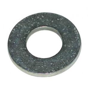 Rondelle plate 3/4 ''Zinc plaqué lourd