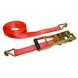 Sangle en 2 parties rouge 8m/50mm clique
