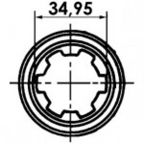 """MACHOIRE 1""""3/8-Z6 CR. 23.8X61.3 MA03 TCM"""