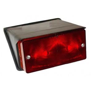 Feu arrière Ford NH 1000 - Objectif Plein Rouge - PAIRE