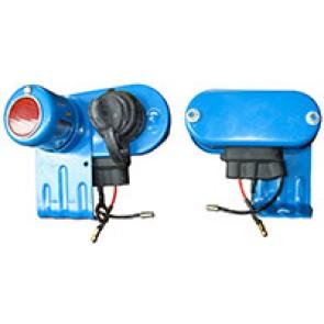 Lampe arrière et 2 Pin Socket c / w caou