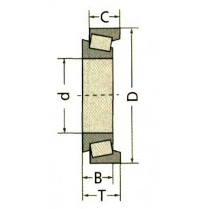 ROULEMENT 30308D