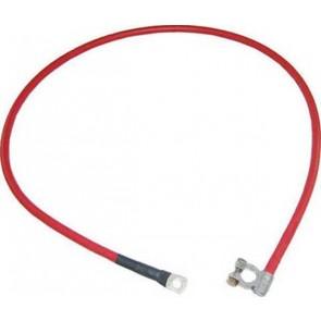 Câble de batterie positive 1300mm 50mm - Rouge