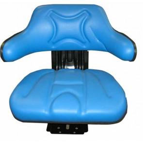 Siège tracteur bleu avec Réglage de l'angle