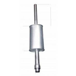 Échappement Jaune diamètre 57 mm longueur 1200 mm David Brown 1290 1294 1390
