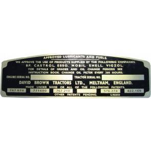 Badge Avant David Brown 990