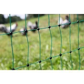 Filet volailles électrifiable 112 cm, double pointe 25 m de long
