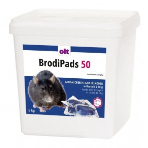 BrodiPads 5000g Brodifacoum