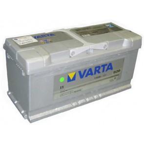 Batterie 12V 110Ah 920A Varta John Deere 4 cyl