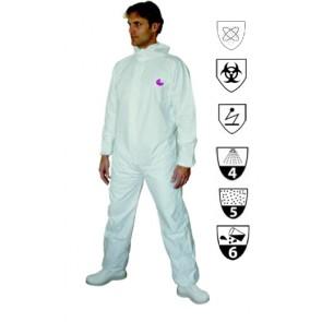 COMBINAISON de PROTECTION PULVERISATION CLASSE 3 A CAGOULE TAILLE XL
