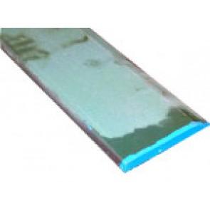 Lame acier bisautée forgée 1800X16X150 250HB bleue