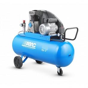 Compresseur bi cylindre bi-étagés à courroie-200L/30M2/4CV/3KW/11B/TRIPHASE