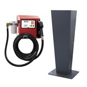 Pompe de distribution de gasoil - Max 70l/min - Pistolet automatique - Avec compteur et filtre