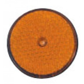 CATADIOPTRE Ø86 ORANGE ROND