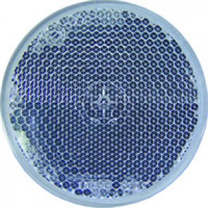 CATADIOPTRE ROND BLANC adhésif diamètre 60 mm