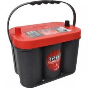 BATTERIE OPTIMA ROUGE-12V-50A-815EN 254X175X200