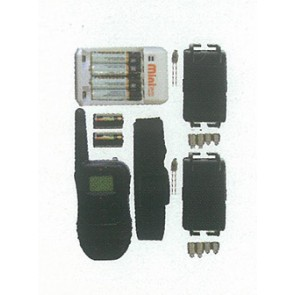 KIT DRESSAGE 2 COLLIERS 300M RECHARGEABLE