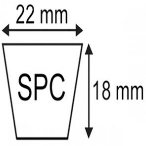 COURROIE SPC.22x18x3350