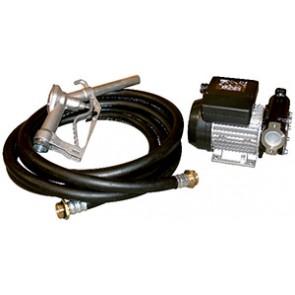 POMPE GASOIL 56L/MN 220V PISTOLET ALU