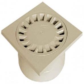 SIPHON DE COUR ABS 200/63X80X100 SABLE