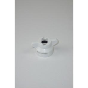 Ecrou + Joint Hardi-Evrard (8mm) - Blanc