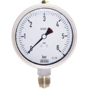 Manomètre de Contôle Inox - 0 à 25 bars