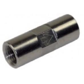 "Clapet laiton nickelé 1/8"" F/F 10 bar"
