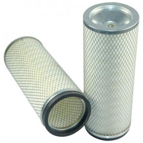 Filtre à air sécurité pour chargeur HITACHI LX 450-7 moteur MITSUBISHI 2007-> S6A3-Y2TAA