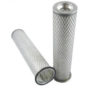 Filtre à air sécurité pour pulvérisateur SPRA-COUPE 3630 moteur PSA 2002-> XUD 9